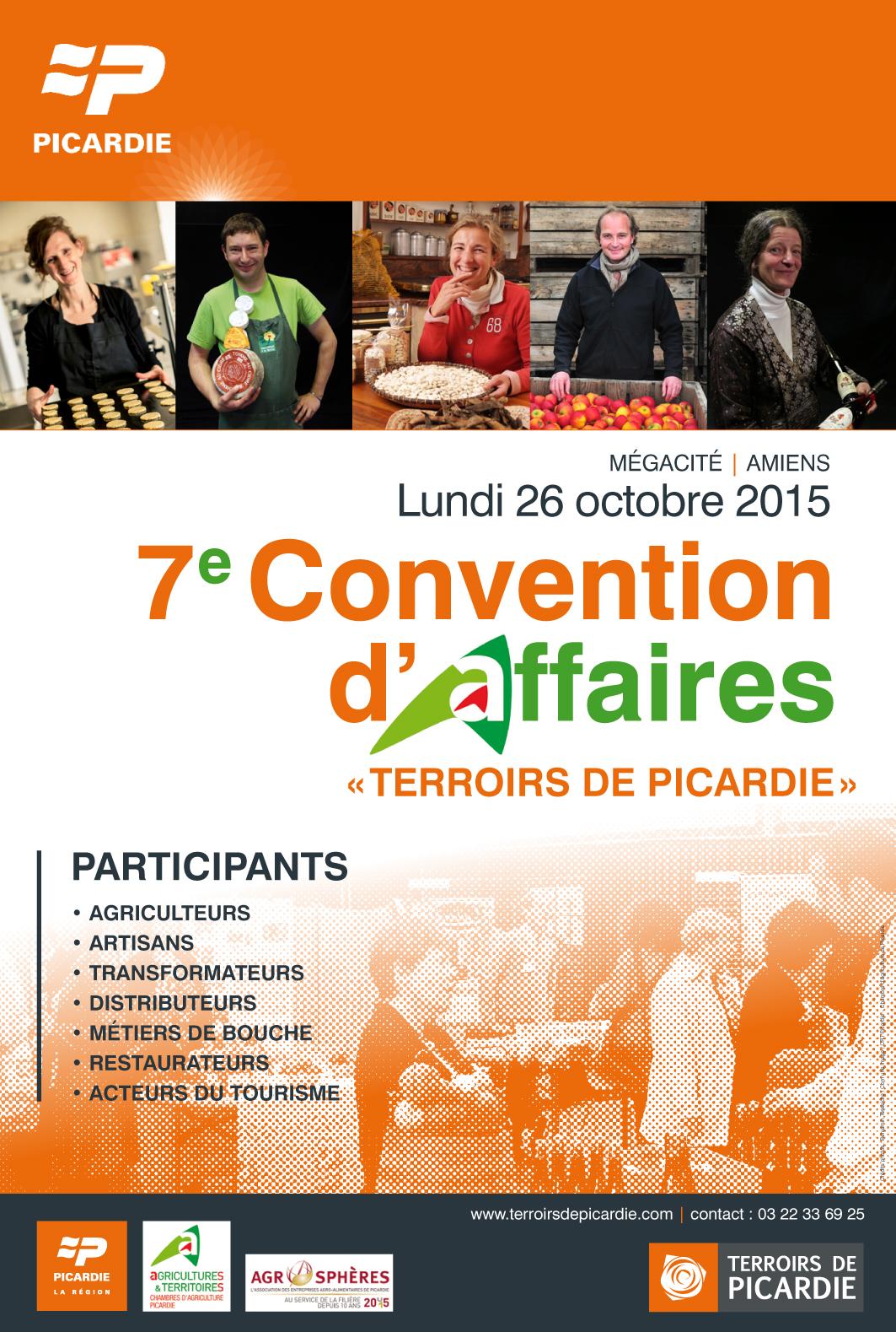 convention terroirs de picardie 2015